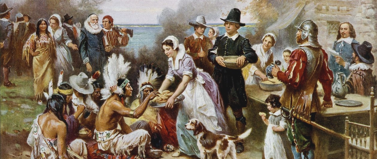 Jean Leon Gerome Ferris -The First Thanksgiving