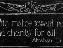 And charity for all